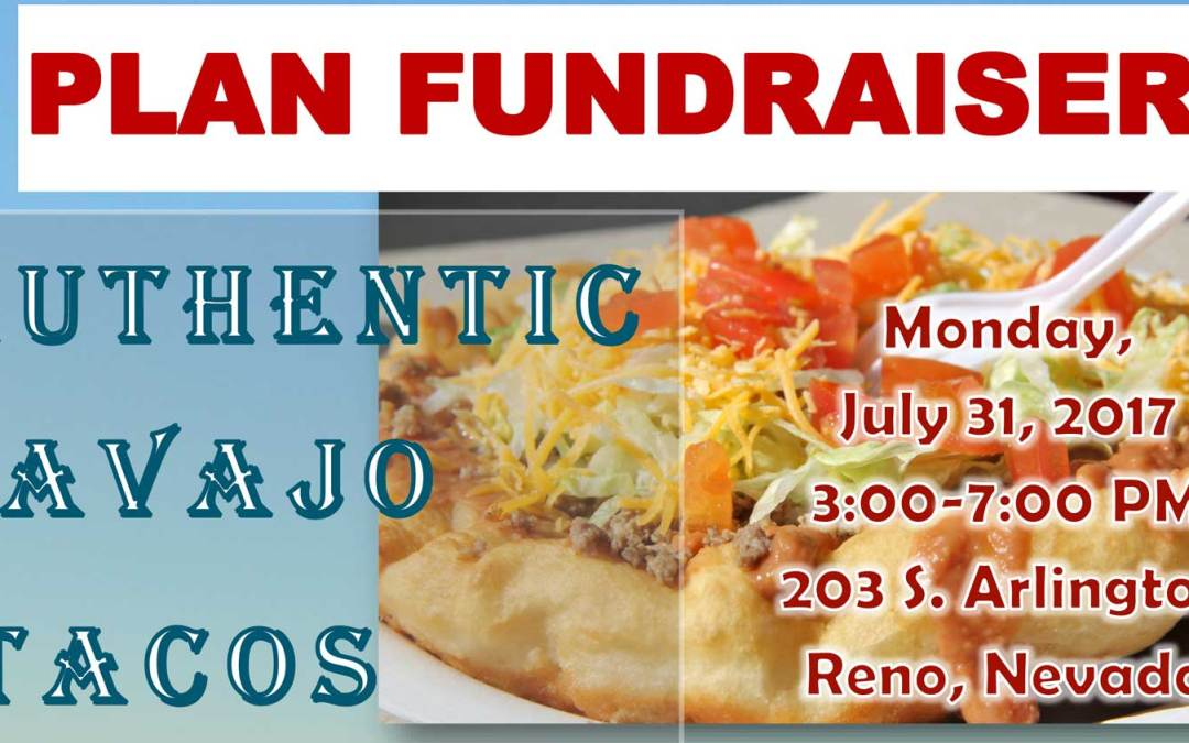 PLAN Fundraiser! Authentic Navajo tacos!