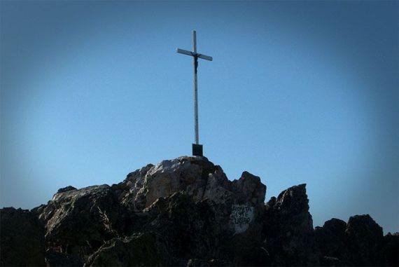 Cruz camino de la Plaza de los Moros