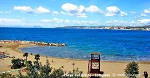 Playa del Cristo Estepona, Málaga.