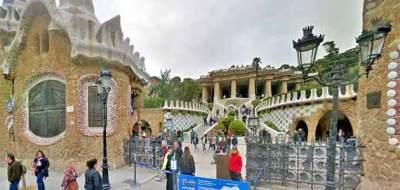 Entrada al Parc Güell