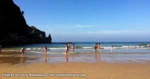 Playa de la Franca, Ribadesella