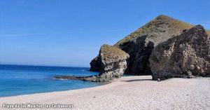 Playa de los Muertos en Las Carboneras