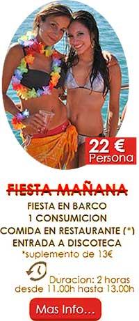 Fiestas en barcos en Valencia