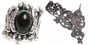 Anillo collar gótico