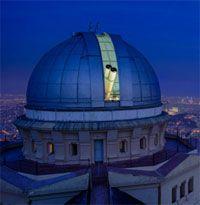 Cena en el observatorio de Barcelona