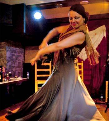 Restaurante tablao flamenco Nervión en Barcelona