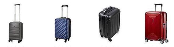 Maletas y tipos de viaje