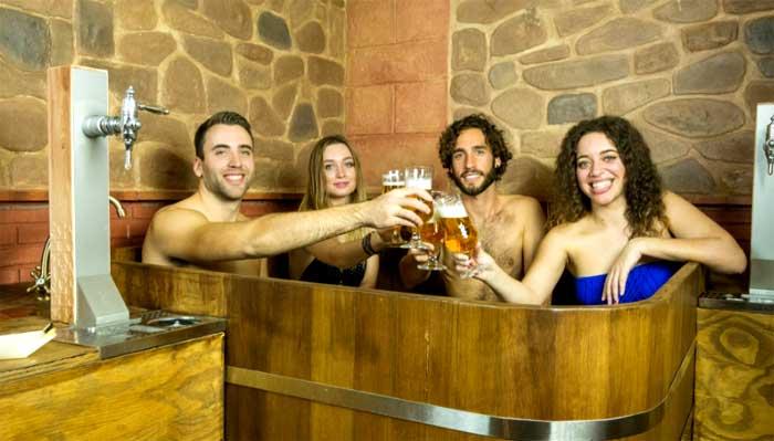 Baños de cerveza