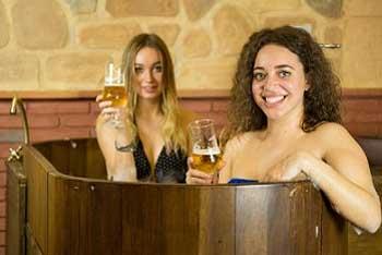 Beneficios del baño de cerveza