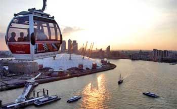Teleférico Emirates de Londres