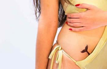 Tatuaje Cola de Sirena