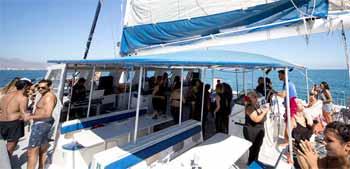 Fiestas en Boat Party Alicante