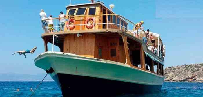 Atardecer en barco en Mallorca