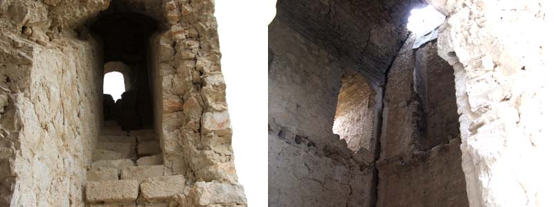 Interior del Castillo de Oreja