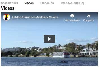 Información sobre tablaos flamenco