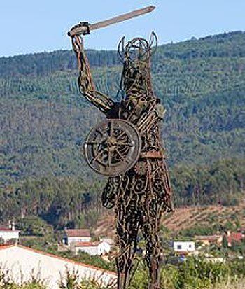 Vikingos en Catoira Galicia