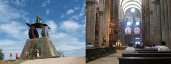 Monte Gozo catedral