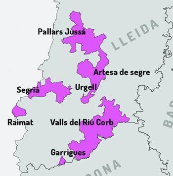 DO Costers del Segre Lleida