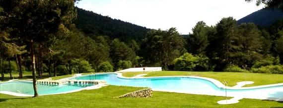 Las Berceas piscinas naturales Cercedilla