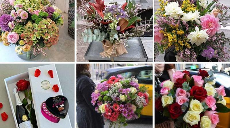 Enviar flores domicilio Barcelona