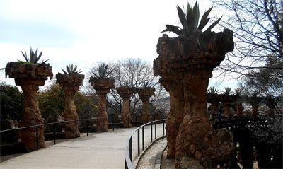 Caminos y senderos Parc Güell
