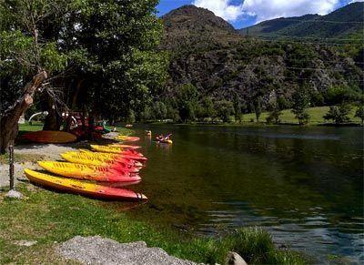Paddle surf en el embalse Torrasa Quingueta d'aneu