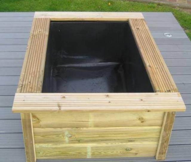 Garden Quadra With Wooden Frame Ubbink