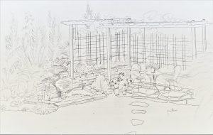 Plani-Décor-Aménagement paysager-Croquis 1