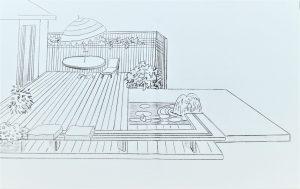 Plani-Décor-Aménagement paysager-Croquis 5