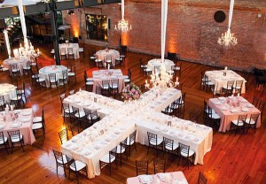 cross table wedding party