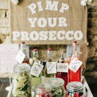 prosecco bar engagement parties