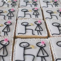 engagement parties sugar cookies