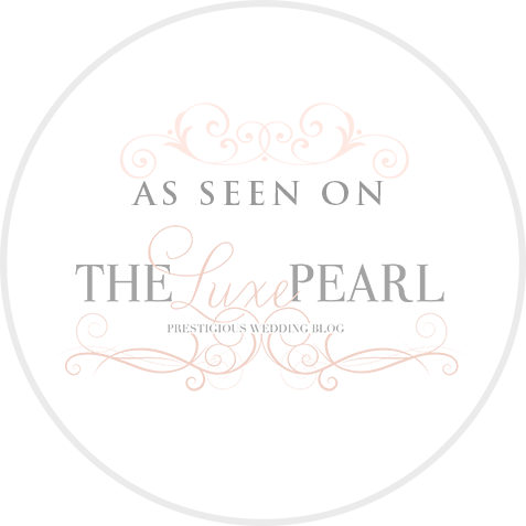 luxe pearl wedding blog