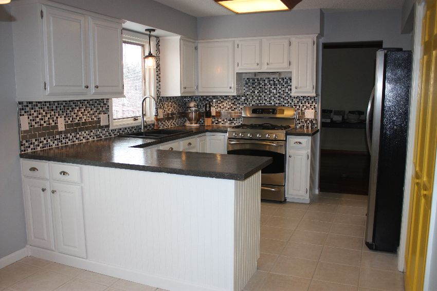 How Can I Remodel My Kitchen Cabinets  Small House Interior Design