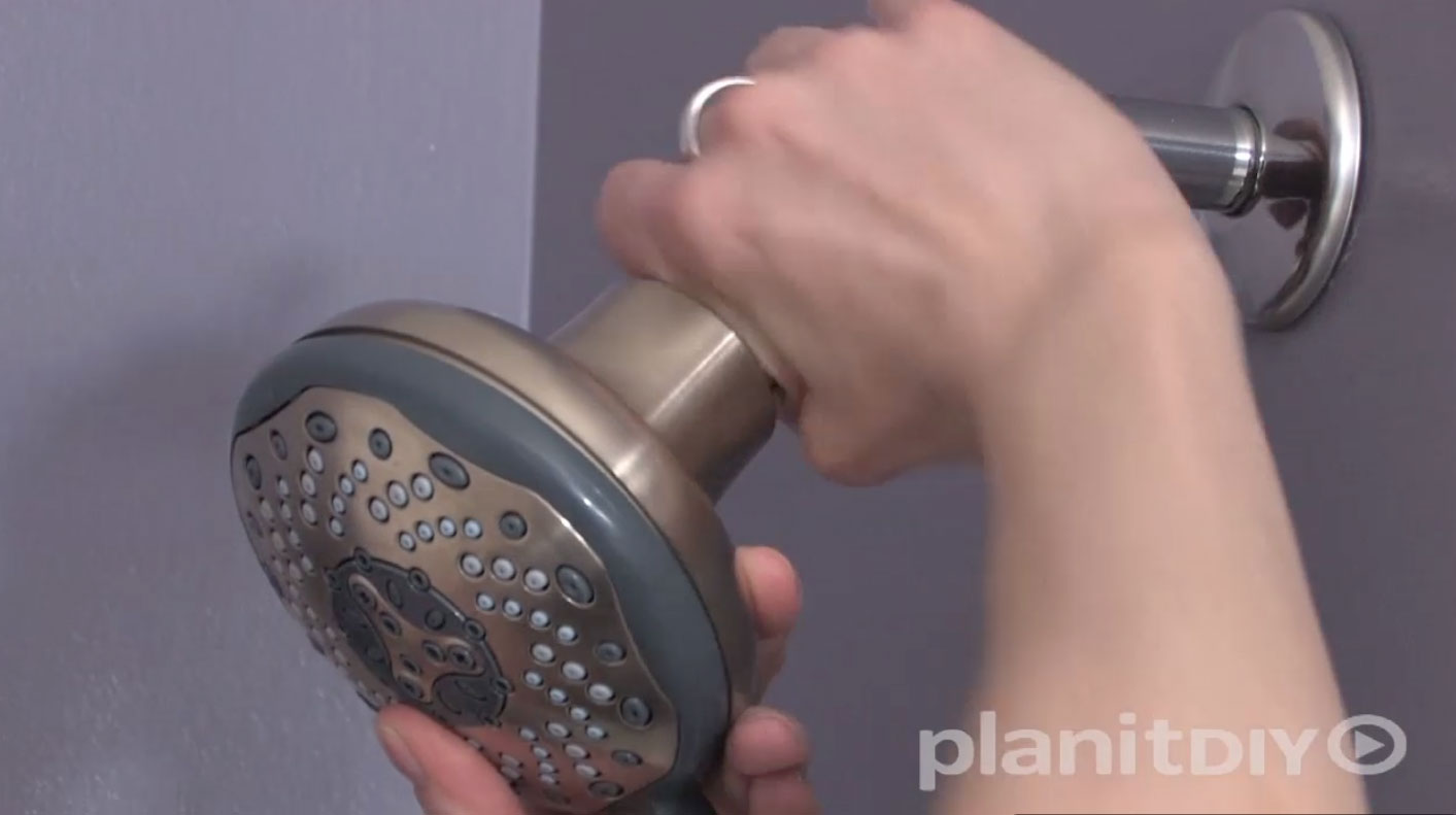 How to Replace a Shower Head  PlanItDIY