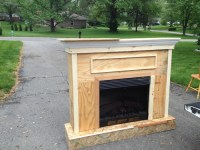Plans to build Electric Fireplace Surround Plans PDF Plans