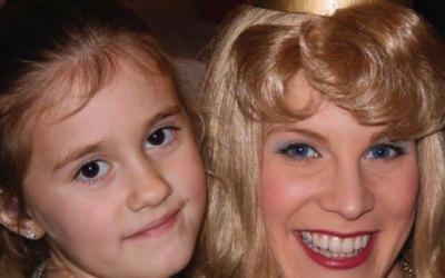 Anna, 7 – A Trip to Disneyland Paris to be a Disney Princess