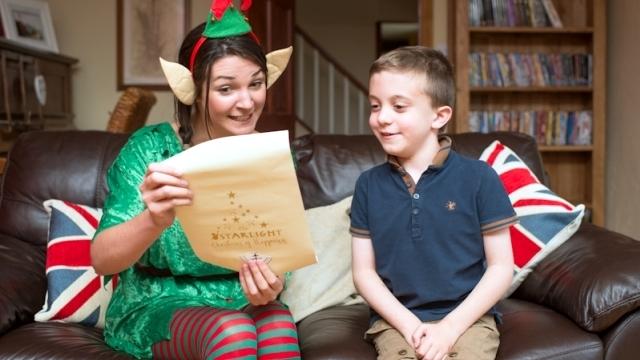 Alice the Elf tells Joshua he is going to Lapland