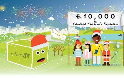 planitgreen hit £10,000 target
