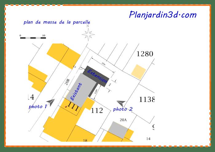 plan de masse de la parcelle_1