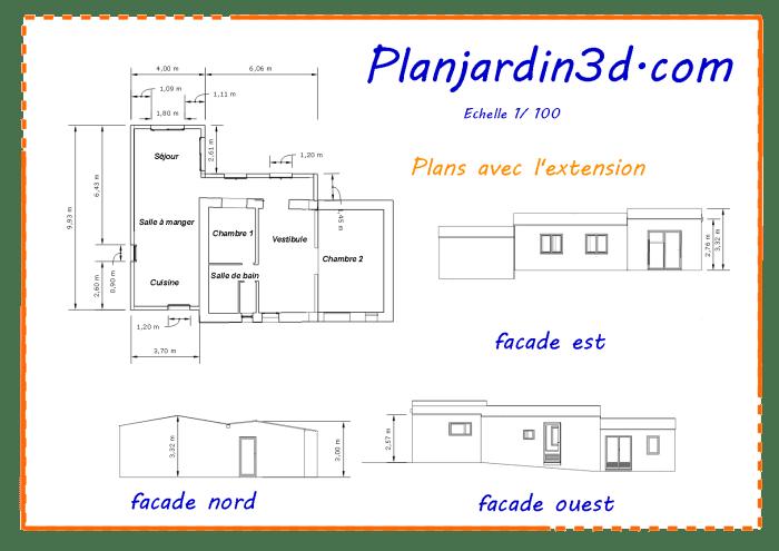 projet plans de masse et des facades_1