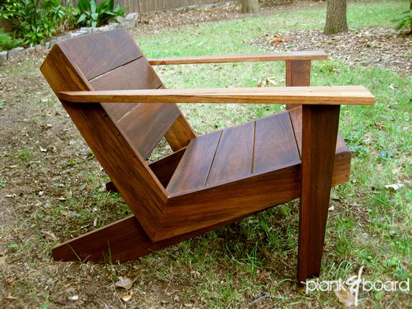 modern style adirondack chairs target foldable furniture atlanta georgia contemporary outdoor patio a take on the classic chair in basralocus brazilian hardwood