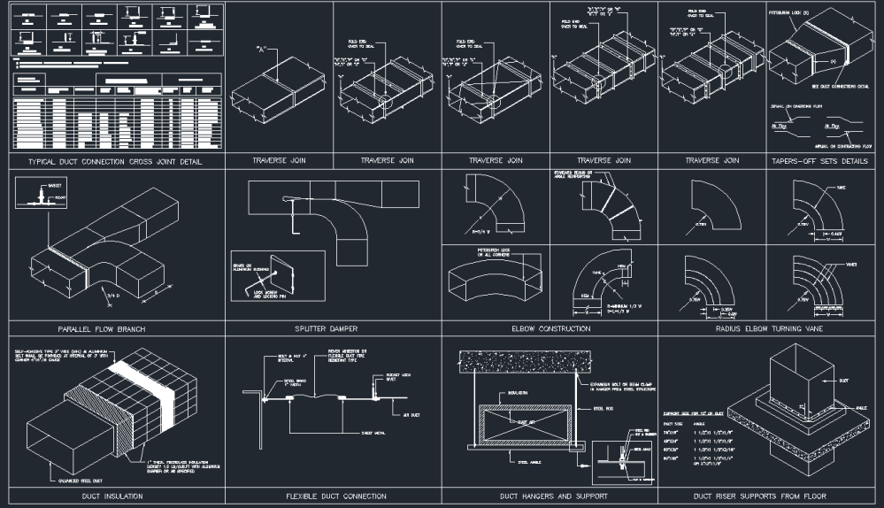 medium resolution of hvac ducting drawing picture
