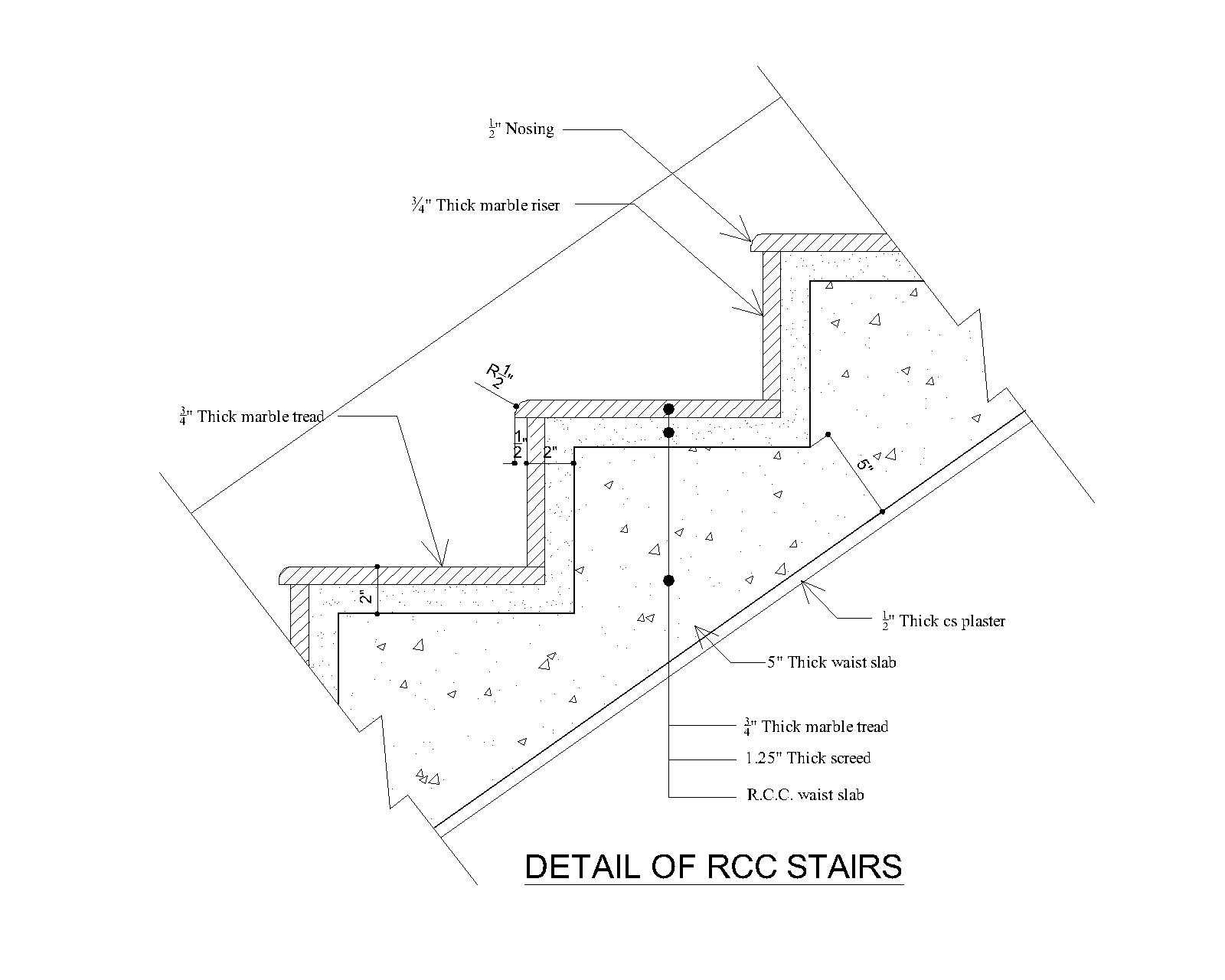 Concrete Stair Section - Stlfamilylife