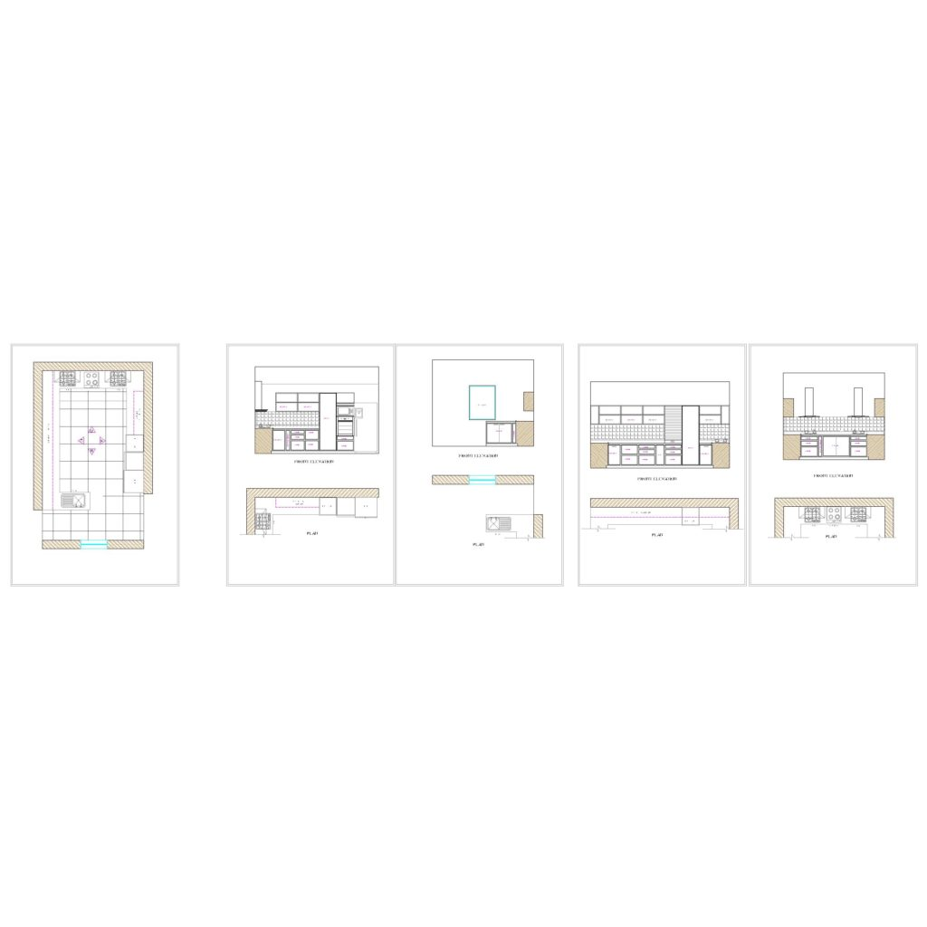 Modular Kitchen Cad Files Dwg Files Plans And Details