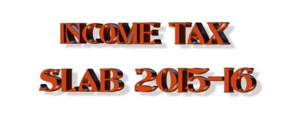 income tax slab for 2015-16