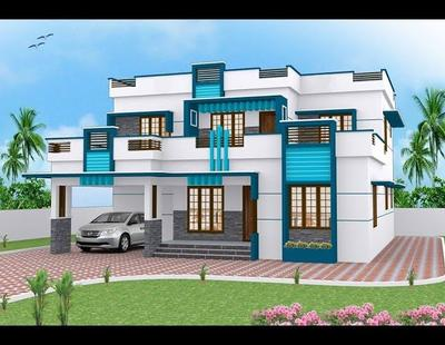 100 Most Beautiful Modern House Front Elevation Designs