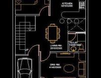House Architectural Space Planning Floor Layout Plan 20 ...
