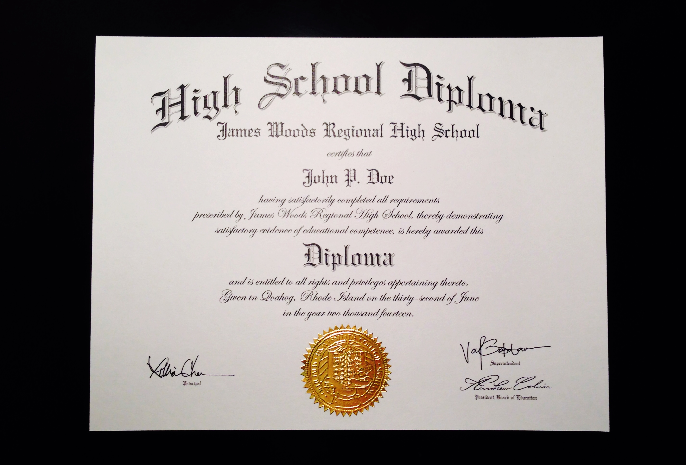 free printable high school diploma templates