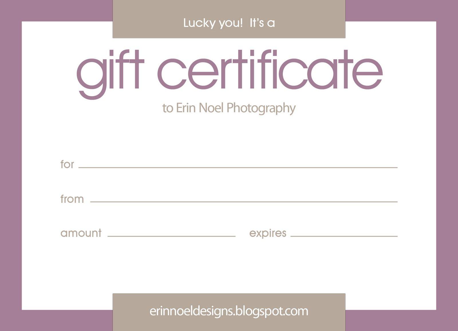 google docs gift certificate template